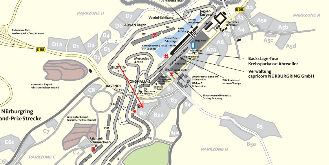 Parken am Nürburgring