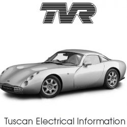 TVR Tuscan Electrical Information