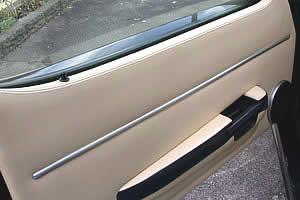 Door strip in place
