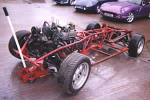 TVR 400SE rolling chassis