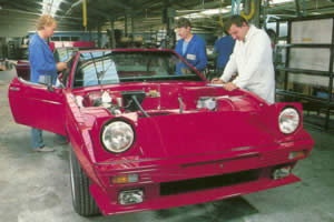 TVR Factory floor
