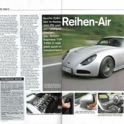 Sport Auto 10/2003 Fahrbericht TVR T350C